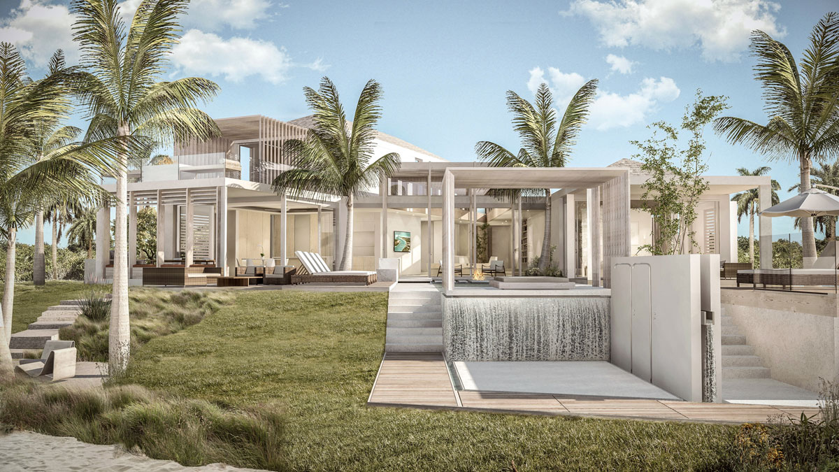 Providenciales villas for sale project showcase blue cay - House with a view ...