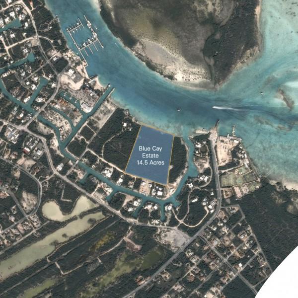 Luxury Villas at Blue Cay Estate Site Plan